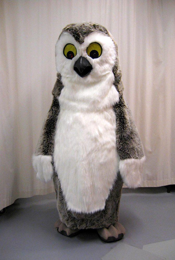 Heinolan kaupungin Pöllö maskotti