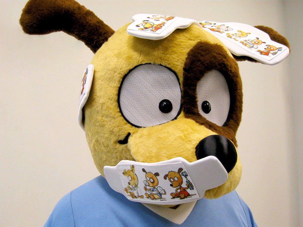 Pikkujätti lasten ja nuorten lääkäriaseman maskotti koirat