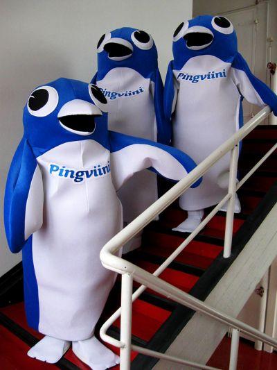 Pingviini maskotti