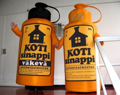 Kotisinappi pullot