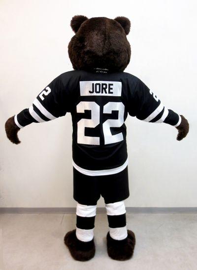 TPS:n Jore-karhu maskotti