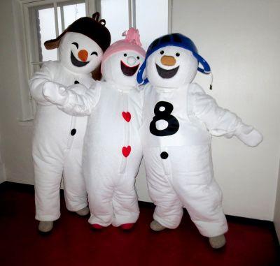 Lumiukkomaailman lumiukot