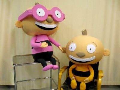 Tatu ja Patu maskotit