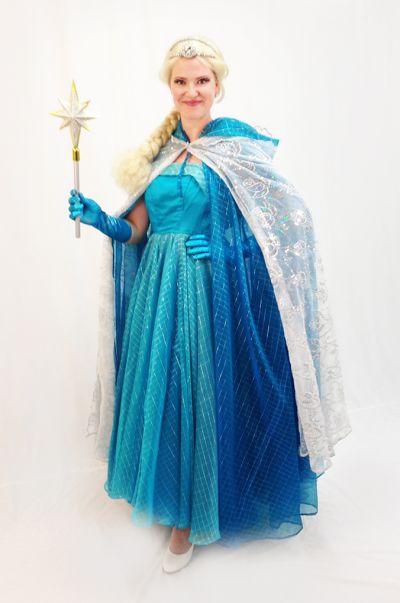 Artistiasu vuokrapuku Jääprinsessa Elsa