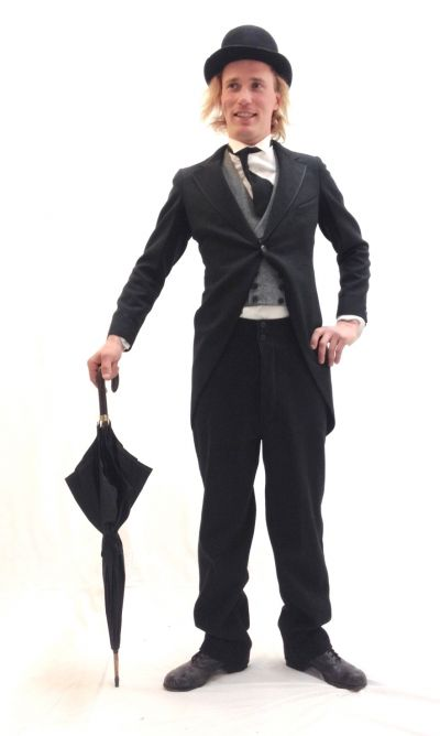 Artistiasu vuokrapuku Chaplin