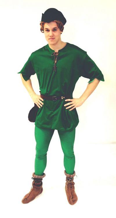 Artistiasu vuokrapuku, Robin Hood / Peter Pan