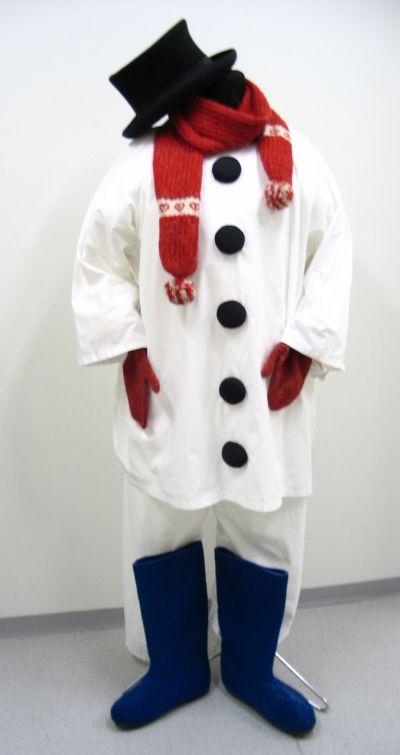Artistiasu vuokrapuku lumiukko