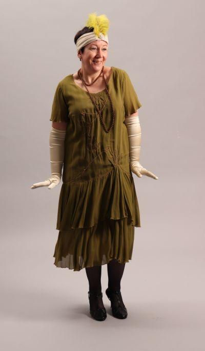 artistiasu vuokrapuku 20-luku, pukeutumiselämys