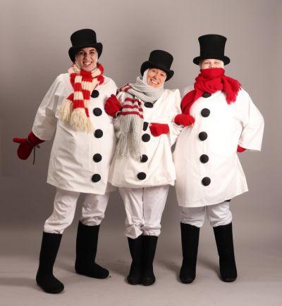 Artistiasu vuokrapuku lumiukot