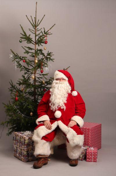Artistiasu vuokrapuku joulupukki (ns. Cokis-pukki, ilman vyötä)