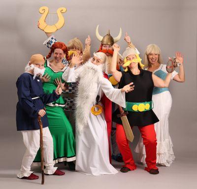 Artistiasu vuokrapuku Asterix & Obelix