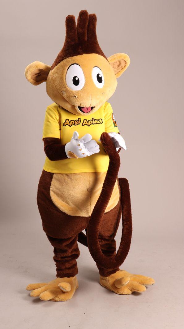Artistiasu tilaustyö, ABC huoltoasemat – Apsi Apina